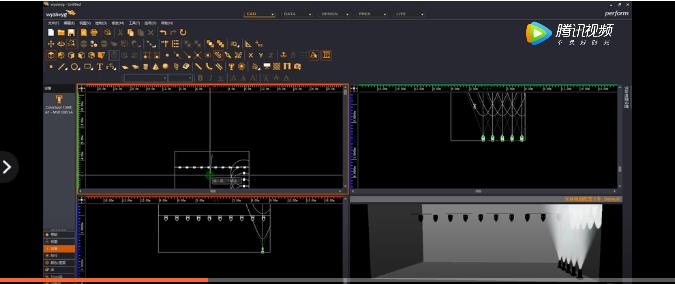 MA2控台MA2模拟器链接WYSIWYG软件视频教程