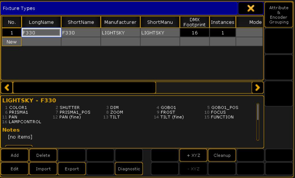 MA2 灯库关于MA3D设置数据